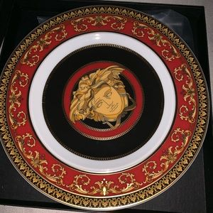 Versace Plates Set Of 4